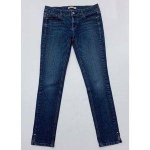 WHBM Noir Skinny Jeans Medium Wash 29 waist size 2